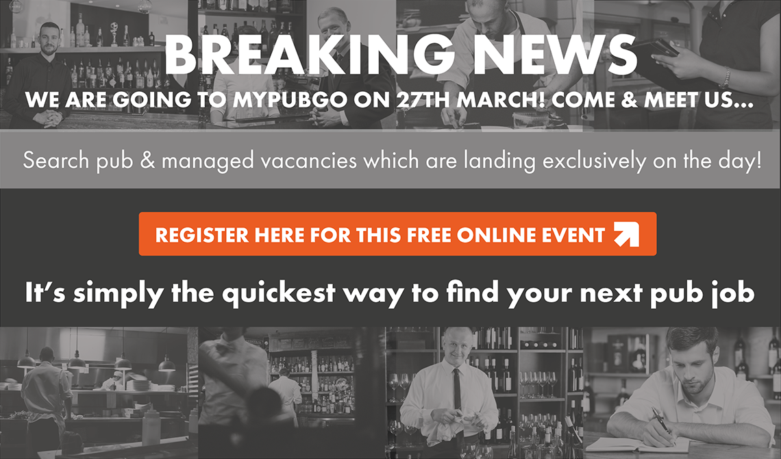 Breaking News, we are going to MyPubGo on 27th March! Come & meet us…